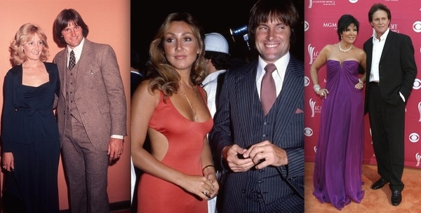 Bruce Jenner Was Married Three Times.