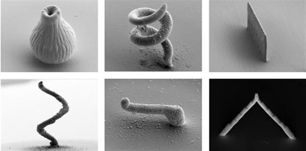 3D Printers Can Create Microscopic Objects