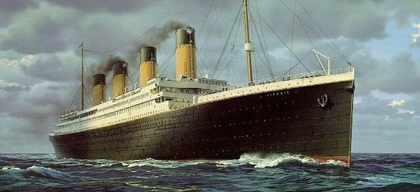 """RMS- The Titanic as a """"Royal Mail Steamer"""""""