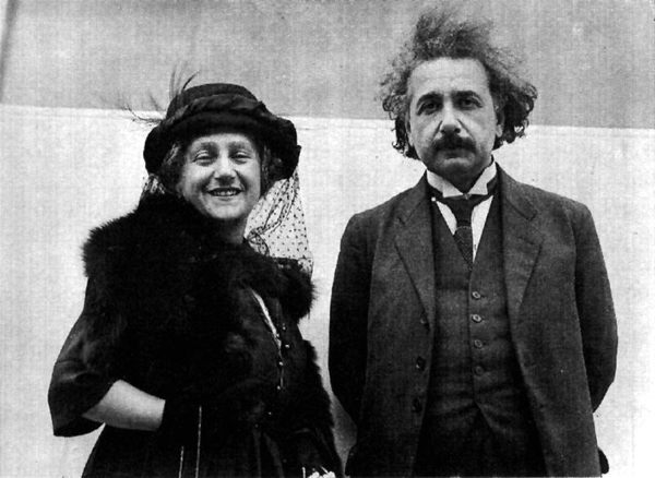Albert Einstein cousin wife