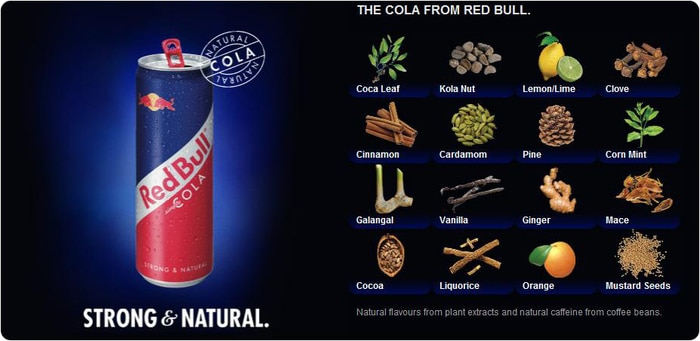 Red Bull is All Natural