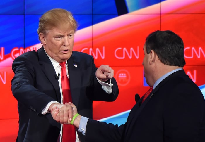 Don't expect Trump to shake your hand.